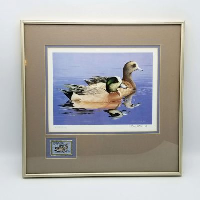 50th Anniversary Federal Duck Stamp Print Framed William C Morris