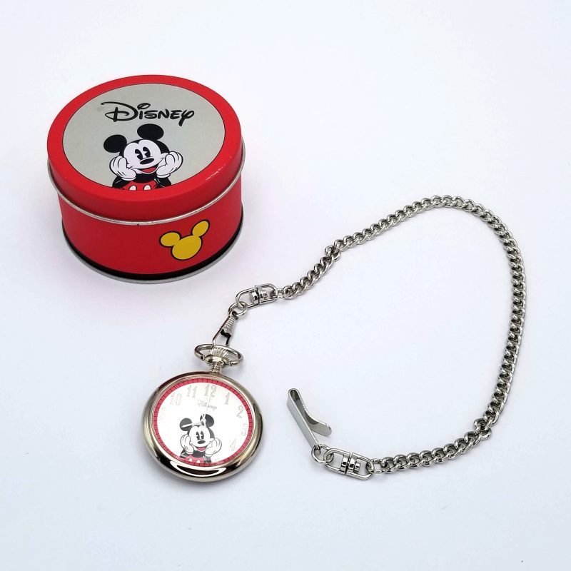 Avon Collectible Disney Mickey Mouse Pocket Watch