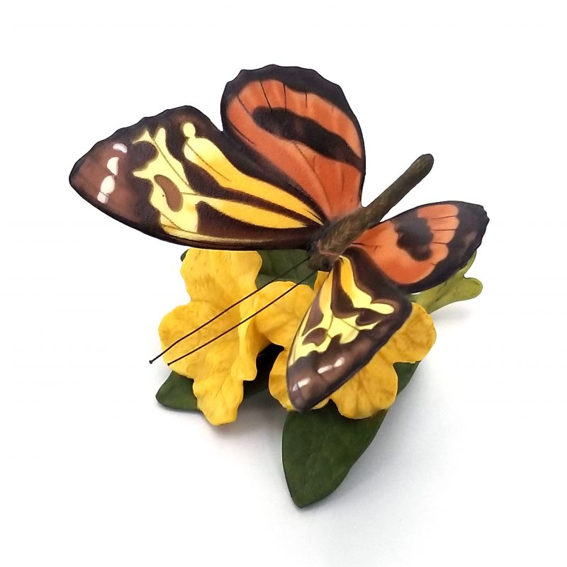 Franklin Mint - Butterflies of Paradise - Tiger on Sunshine Tree 1987